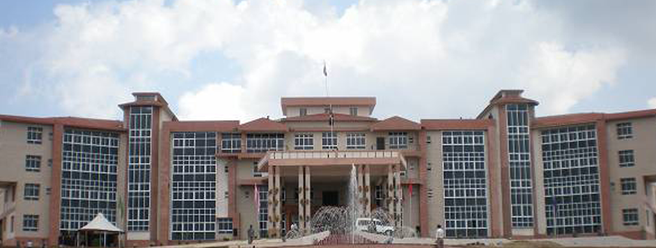 ADMINISTRATIVE BUILDING OF ASSAM RIFLES AT LAITKOR SHILONG