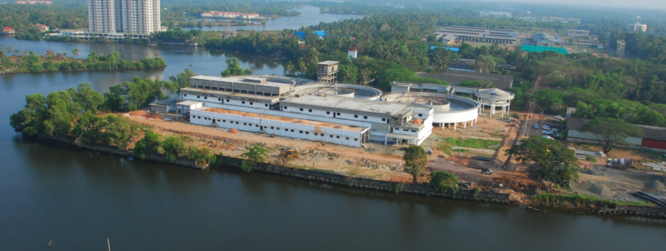 100 MLD WATER TREATMENT PLANT (WTP) AT KOCHI, KERALA